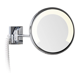Espejo de aumento para hoteles for Espejo aumento con luz
